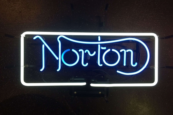 Norton Neon Sign