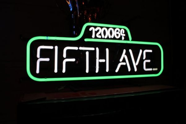 Fifth Avenue Neon Sign